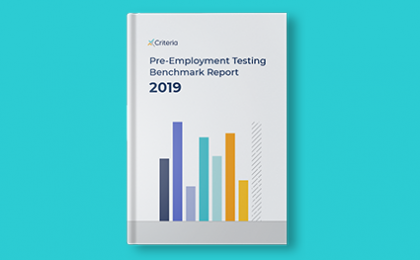 ebook 2019 Pre-Employment Testing Benchmark Report