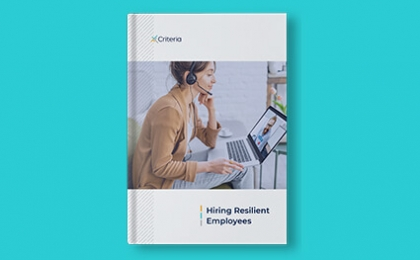 book cover - hiring resilient employees