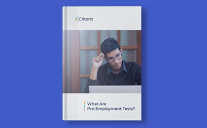ebook What are Pre-Employment Tests? A Primer.